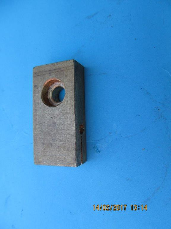 Supra-Jeba Brass guide block.