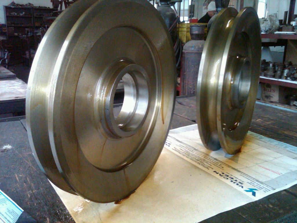 Sheave Wheels Complete